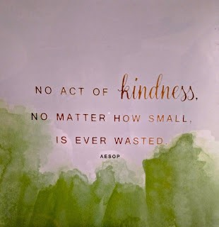 No Act of Kindness notecard